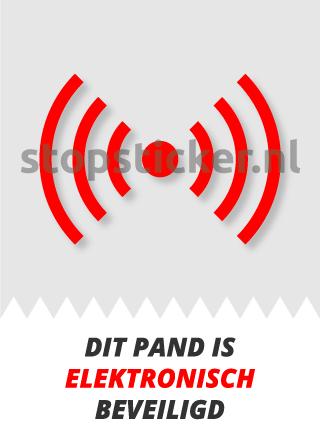 Elektronsiche beveiliging sticker